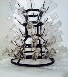 Hommage à Duchamp, 2015, glas, metall