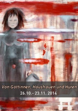 """Barbara Heine-Vollberg, Ingrid Holm und Frank-Martin Stahlberg zeigen in ihren Arbeiten Facetten des Weiblichen zwischen """"Teufelsweib"""" und """"Engelsgleicher"""", zwischen Heiliger und Hure im Wandel der Zeiten."""