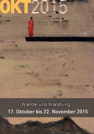 Werke von 24 Künstlern, von den achtziger Jahren des 20. Jahrhunderts bis heute, zeigt die Ausstellung in der Galerie Altes Rathaus in Worpswede vom 17.10. bis 22.11.2015. Zeichnungen und Gemälde, Skulpturen und Fotografien werden unter dem Aspekt des Wandels und der Wandlung präsentiert, die klassischen Themen Landschaft und Menschenbild unter diesem Aspekt betrachtet.
