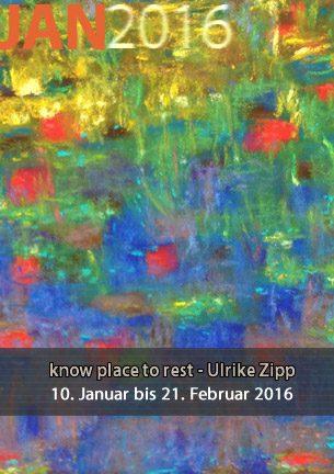 """""""Wenn es nur einmal so ganz stille wäre."""" von Rainer Maria Rilke war  ein Satz, der die Malerin Ulrike Zipp in den letzten Jahren häufiger  beschäftigte. Rasten, innehalten, bei sich sein in der Gegenwart, zurückblicken auf  Etappen, die hinter einem liegen."""
