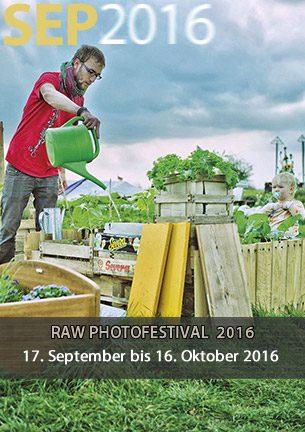 Ein sechsköpfiges Team um die Worpsweder Fotografen Rüdiger Lubricht und Jürgen Strasser veranstaltet vom 17.09. bis 16.10.2016 zum ersten Mal das RAW PHOTOFESTIVAL WORPSWEDE. Die Eröffnung findet am 17.9.2016 um 18 Uhr in der Bötjerschen Scheune statt. Der Eröffnungsrundgag startet am 18.9.2016 um 11 Uhr an der Galerie Altes Rathaus.