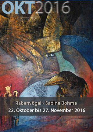 Mit ihren Arbeiten will Sabine Böhme darüber informieren, welch lange gemeinsame Tradition diese intelligenten, geselligen und liebenswerten Rabenvögel mit den Menschen verbindet. Beginnend mit der Schöpfungsgeschichte vieler Kulturen bis hin zum heute oftmals schlechten Image.