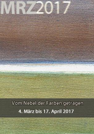 Vom Nebel der Farben getragen – unter diesem Titel zeigt die Malerin Susanne Fasse zarte, in einem reduzierten Bildkonzept angelegte nebulöse Farbfelder