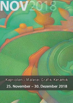 Variationsreiche Arbeiten aus dem Bereich der Malerei – Keramik – Fotografie – Grafik und Zeichnung von Hannelore Casper, Ulrich Groß und Janosch Casper
